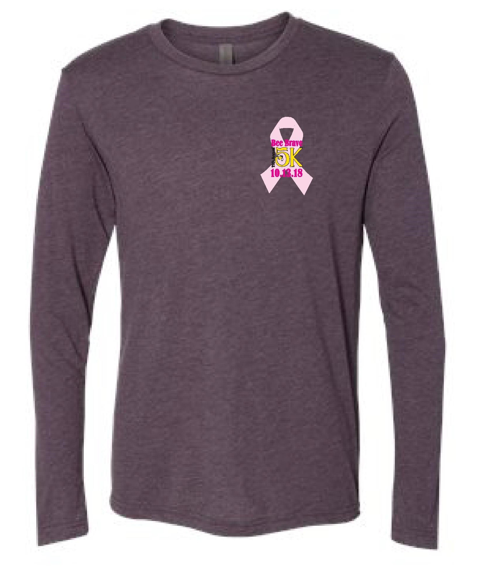 Bee Brave 5K Long Sleeve T-Shirt